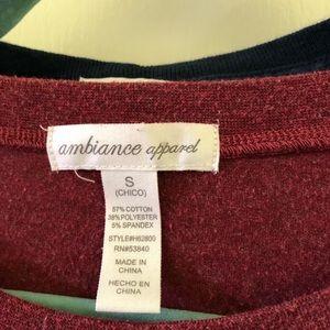 Ambiance Tops - AMBIANCE APPAREL T-SHIRTS